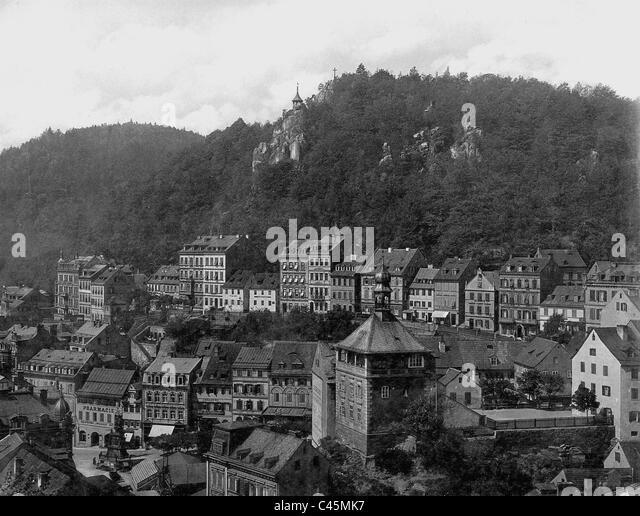 Carlsbad: historische Stockbild