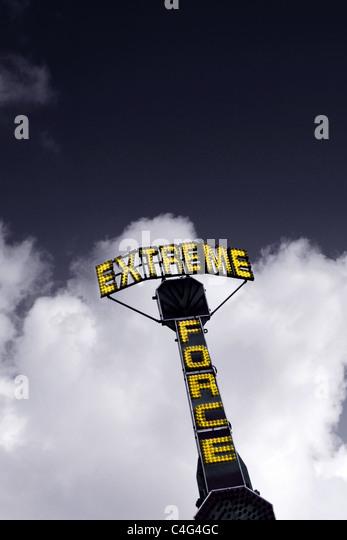 extreme Kraft Stockbild