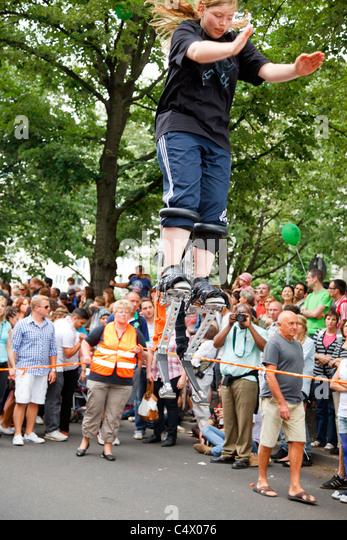 Karneval der Kulturen, Berlin 2011 Stockbild