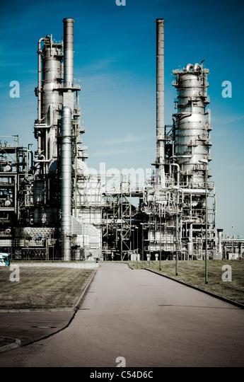 Chemiewerk Leuna Werke, Leuna, Sachsen-Anhalt, Deutschland, Europa Stockbild