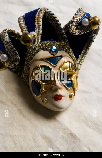 Vintage venezianische Maske Stockbild