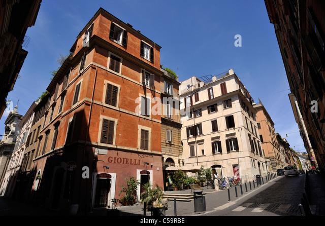 Italien, Rom, Monti Viertel Stockbild