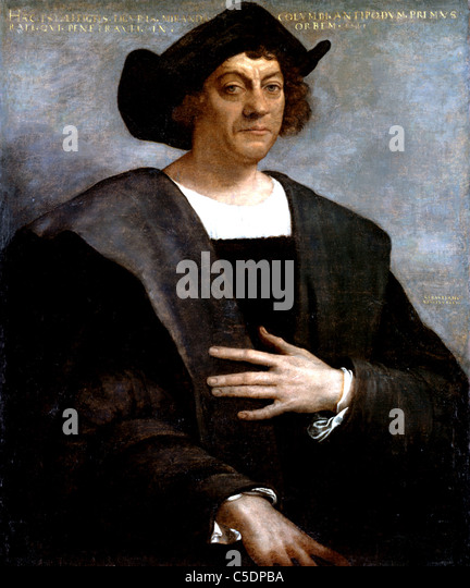 Christopher Columbus Stockbild