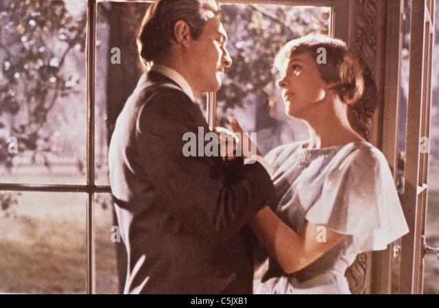 Julie Andrews in The Sound of Music, 1965 Stockbild