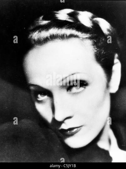 Marlene Dietrich Stockbild