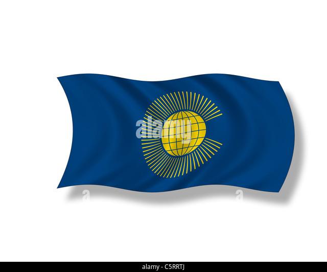 Abbildung, Flagge des Commonwealth Of Nations Stockbild