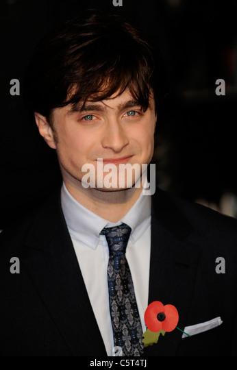 Daniel Radcliffe Kopfschuss 2010 - Bild Copyright Hollywood Kopfschüsse Stockbild