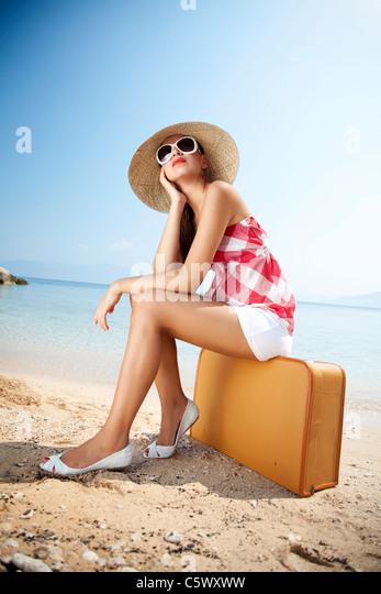 Sommerurlaub Stockbild