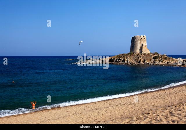 Torre di Bari e, Italien-Sardinien Stockbild