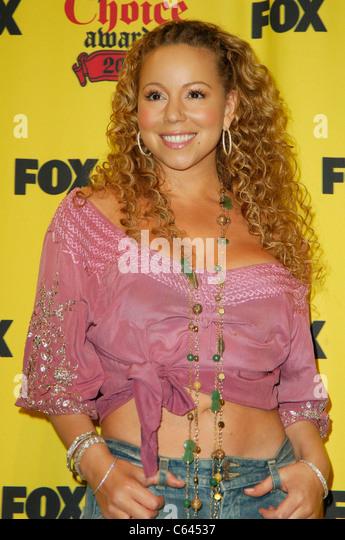 Mariah Carey im Presseraum für 2005 TEEN CHOICE AWARDS, The Gibson Amphitheatre, Universal City, Los Angeles, Stockbild