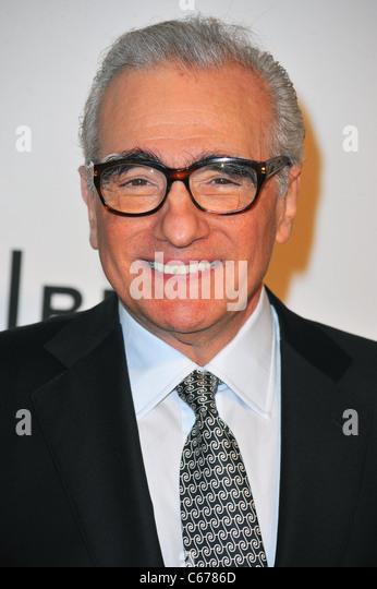 Martin Scorsese im Ankunftsbereich für 2011 Tribeca Film Festival Opening Night-Premiere von THE UNION, Wintergarten Stockbild