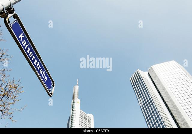 Frankfurt Am Main, Hessen, Deutschland, Europa Stockbild