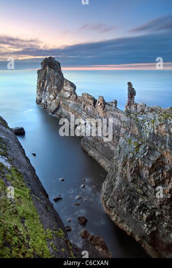 Die Amboss-Tory Island, Co. Donegal Irland. Stockbild