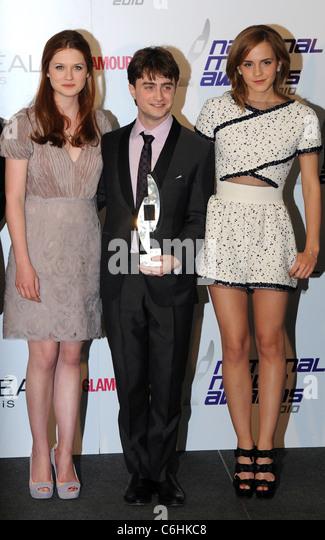 Bonnie Wright Daniel Radcliffe Emma Stockfotos & Bonnie ...