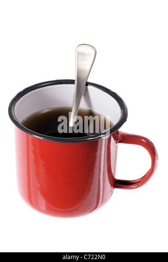 Kaffee im Becher Stockbild