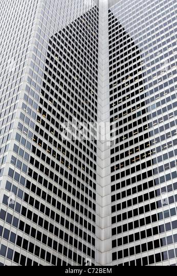 Montreal Bürotürmen Stockbild