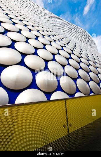 Außen die Selfridges Gebäude, The Bull Ring Shopping centre, Birmingham, UK Stockbild