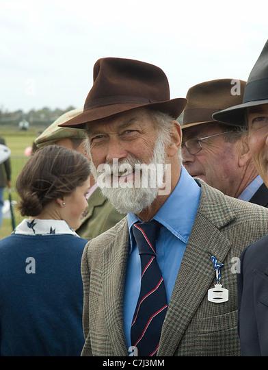 Prinz Michael von Kent genießen 2011 Goodwood Revival Meeting Stockbild