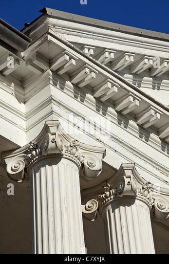 Willowbank, Queenston, Kanada, Ontario ist eine neoklassizistische Haus im Jahre 1834 erbaut und als eine National Stockbild