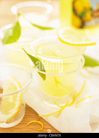 Limonade Stockbild