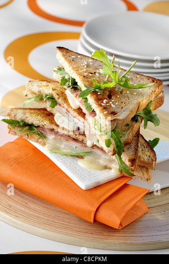 Rocamadour-Club-sandwich Stockbild