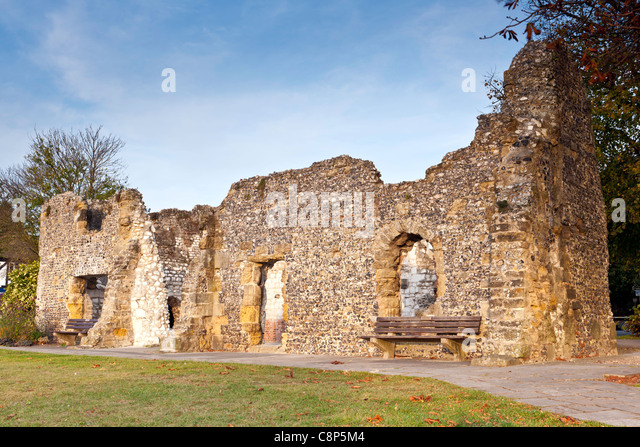 Blackfriars Dominikanerkloster - Arundel, England Stockbild