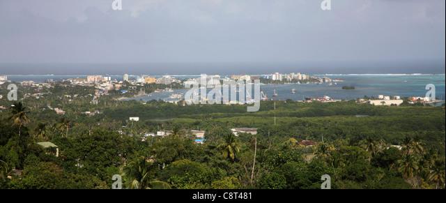 San Andres ist eine Insel in der Karibik Meer Stockbild
