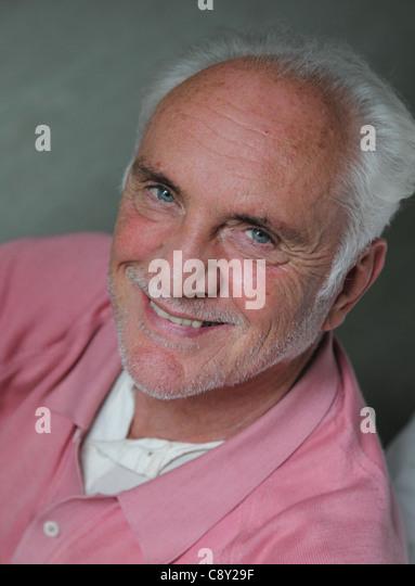 Terence Stamp, Englisch Schauspieler Stockbild