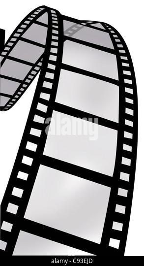 Strudel der Filmrolle - Stock-Bilder
