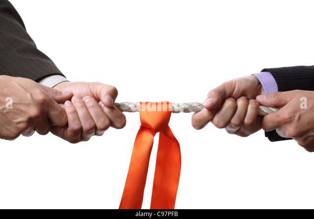 Business-Wettbewerb Stockbild