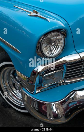Oldsmobile 1955 Havanna Kuba Stockbild