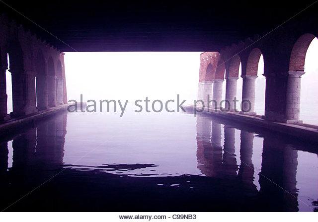 Venedig-Arsenal-Serie Stockbild