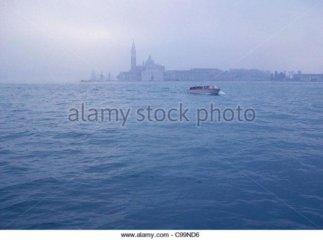 San Giorgio Maggiore in Venedig Stockbild