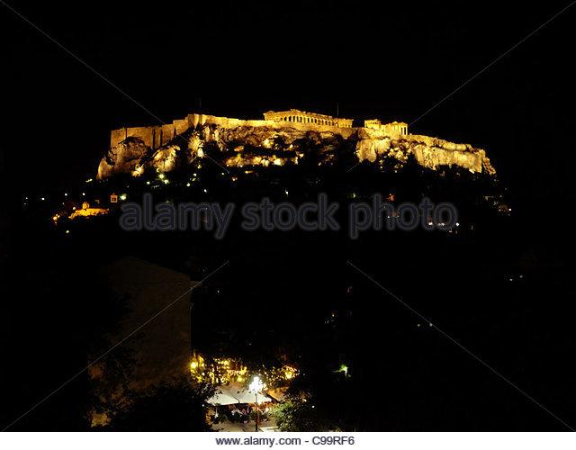 Athen 1 Stockbild