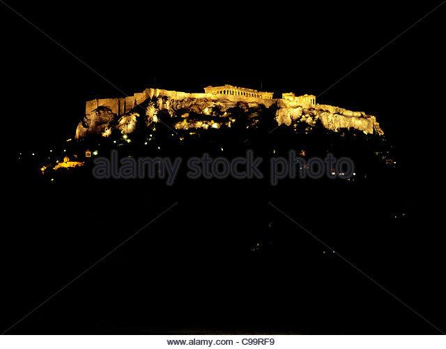 Athen 2 Stockbild