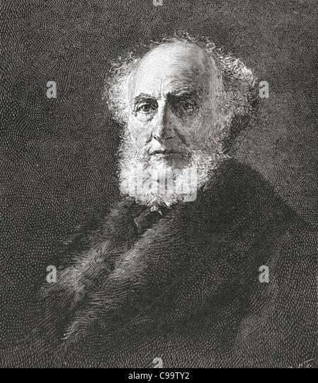 Sir Donald Currie, 1825 ? 1909. Britische Reederei. Stockbild