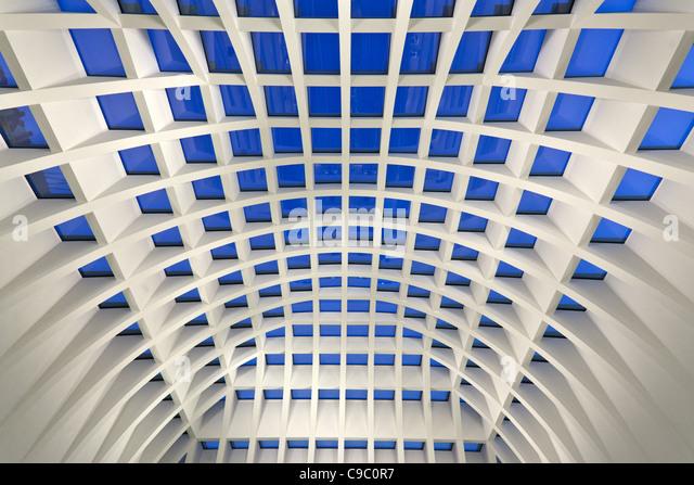 Galleria Kaufhof Lager Kuppel, Architekten Josef Paul Kleihues, Jan Kleihues Berlin Stockbild