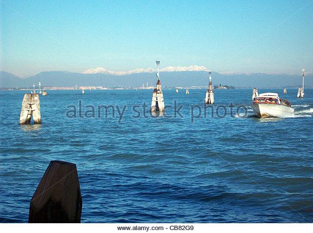 Venedig-Dolomiten Stockbild