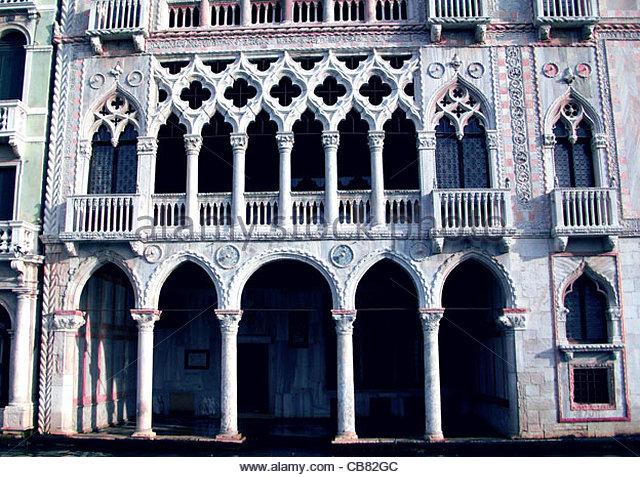 Venedig Ca doro Stockbild