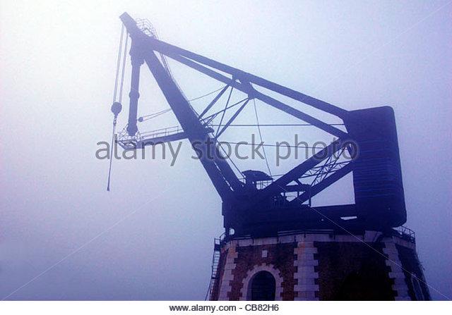 Venedig-Arsenal-Kran Stockbild