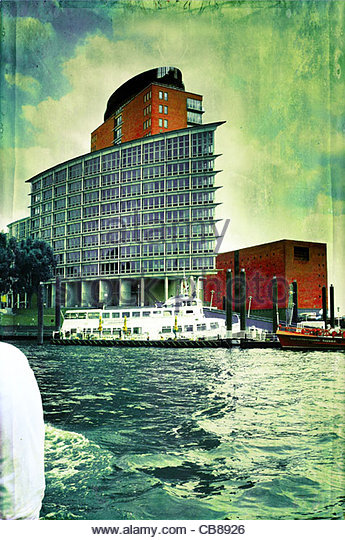 Hamburger Hafen Tour Stockbild