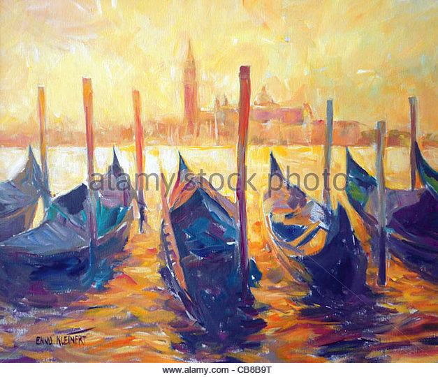 Venedig San Giorgio di Maggiore Stockbild
