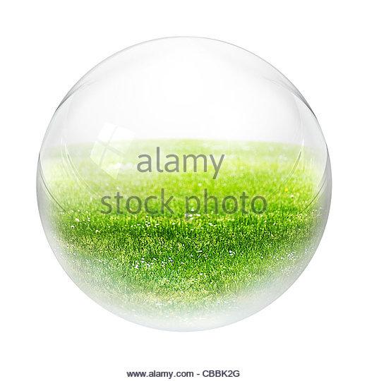 Grass in Blase Stockbild