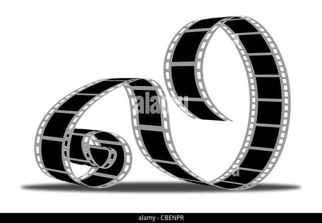 Movie-Streifen Stockbild
