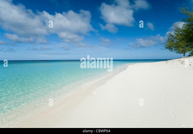 Denis private Island, Seychellen Stockbild