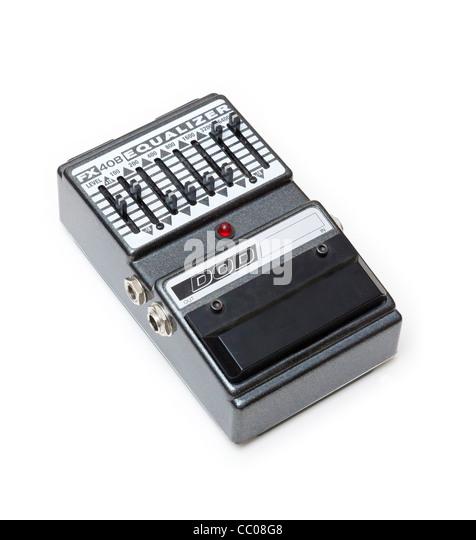 DOD FX40B Grafik-Equalizer für e-Gitarre Stockbild