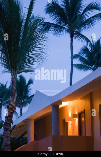 Dominikanische Republik, Punta Cana Region, Bavaro, Iberostar Bavaro Hotel Stockbild