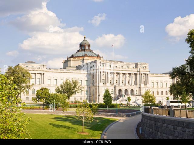 Library of Congress - Washington, DC USA Stockbild