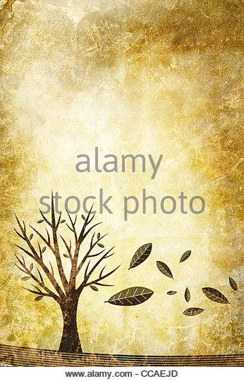 Herbst-Abbildung - Stock-Bilder
