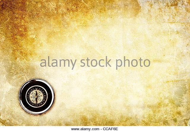 Kompass-Hintergrund Stockbild